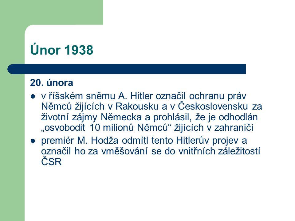 Únor 1938 20. února.