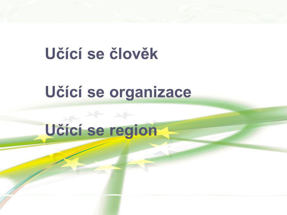 Učící se člověk Učící se organizace Učící se region 12