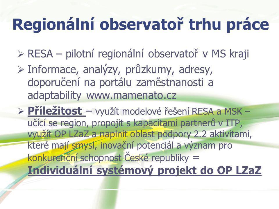 Regionální observatoř trhu práce