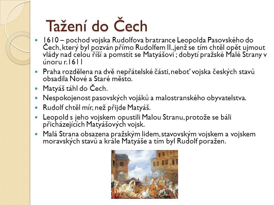 Tažení do Čech
