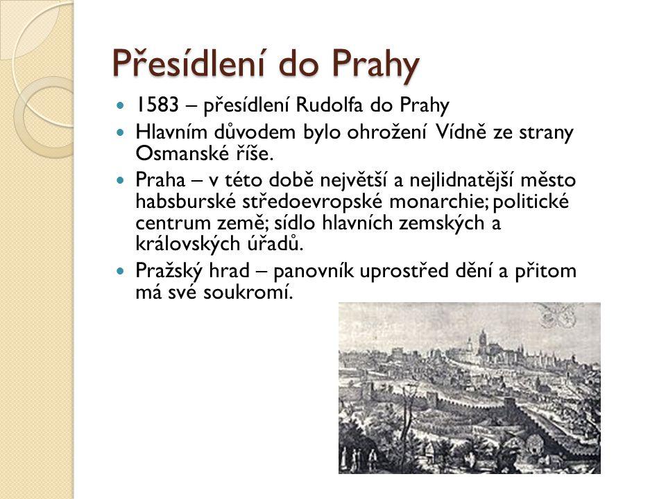 Přesídlení do Prahy 1583 – přesídlení Rudolfa do Prahy
