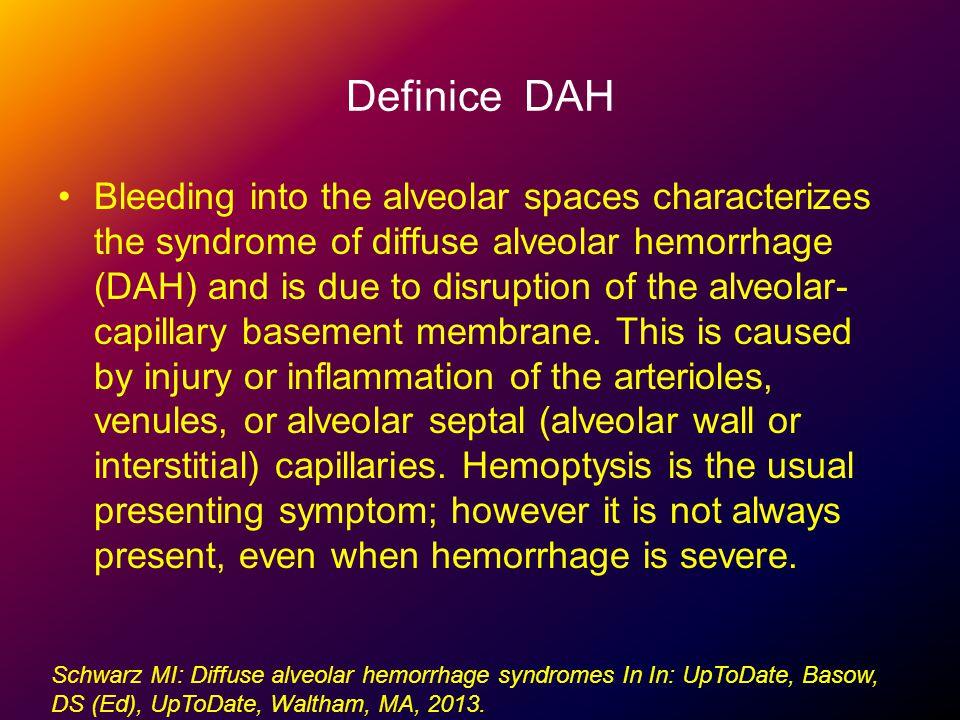Definice DAH