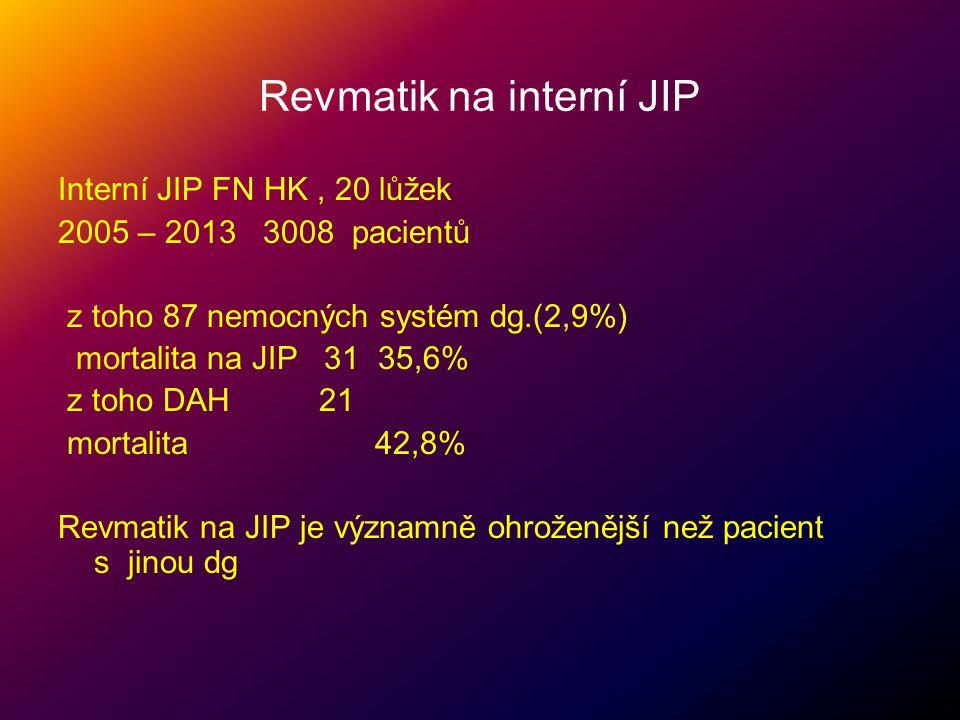 Revmatik na interní JIP