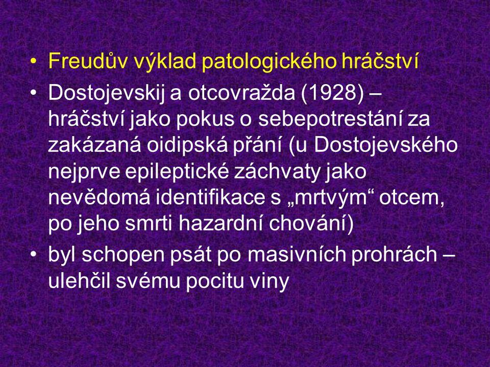 Freudův výklad patologického hráčství
