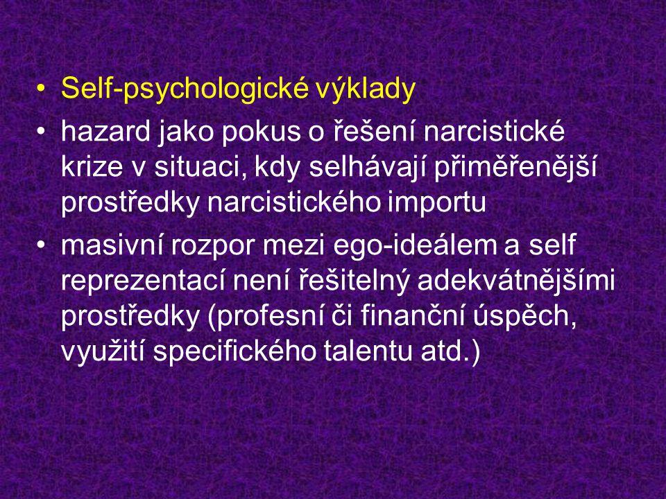Self-psychologické výklady