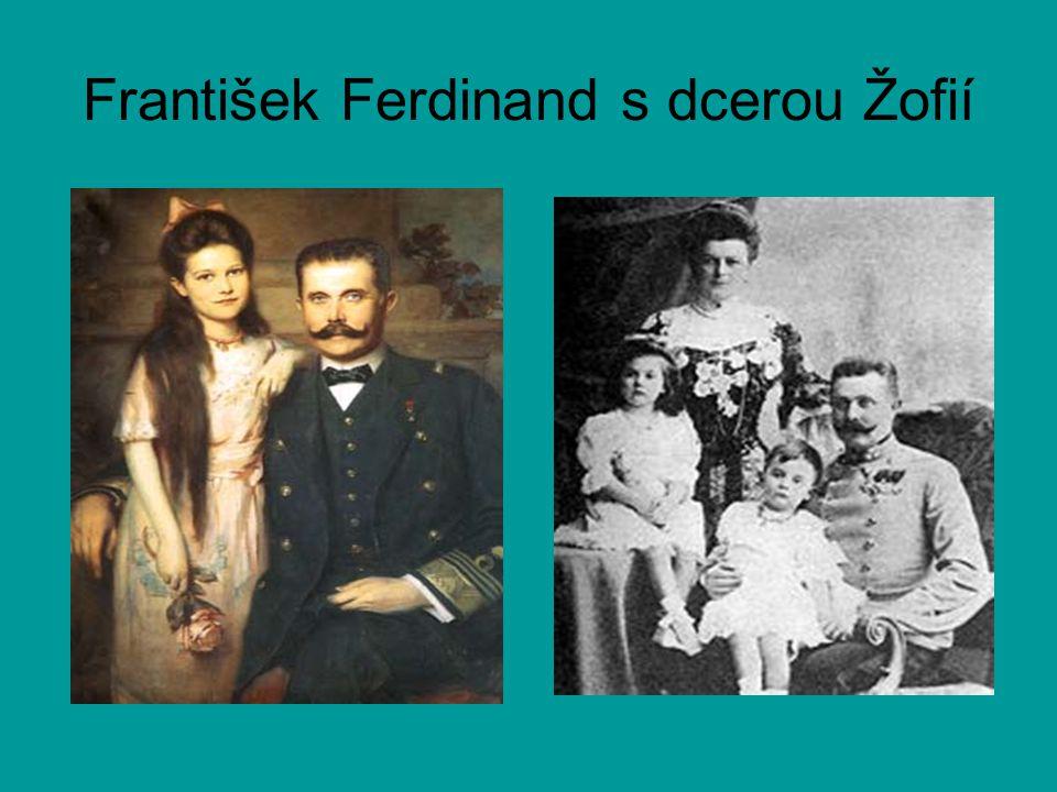 František Ferdinand s dcerou Žofií