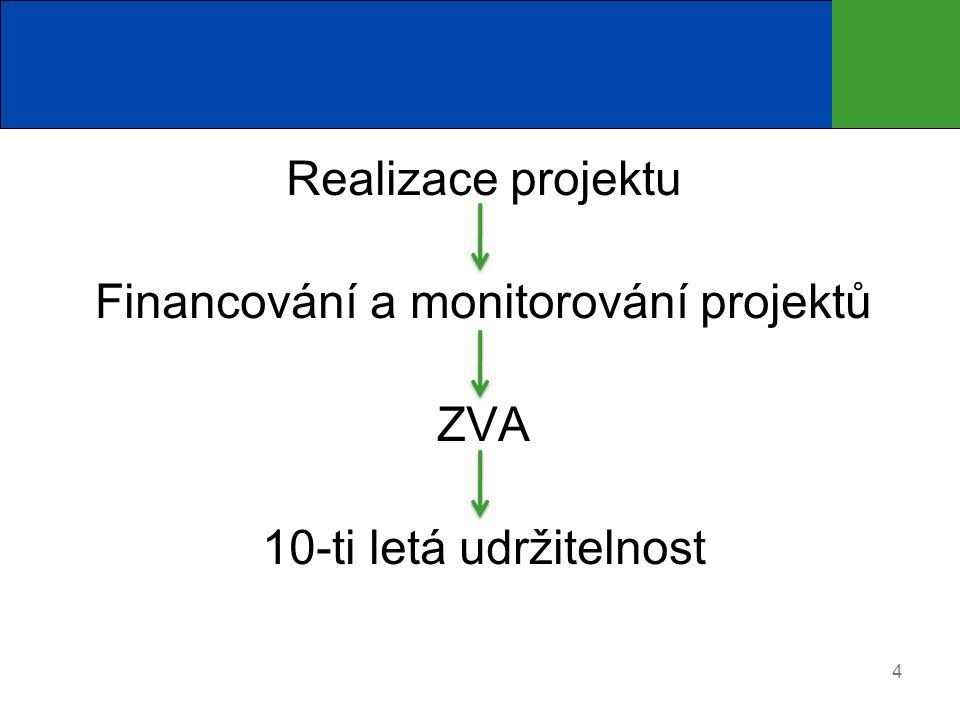 Financování a monitorování projektů