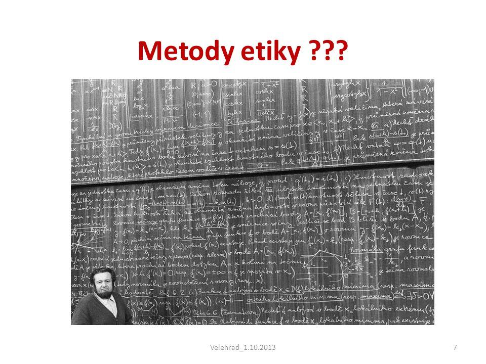 Metody etiky Velehrad_1.10.2013