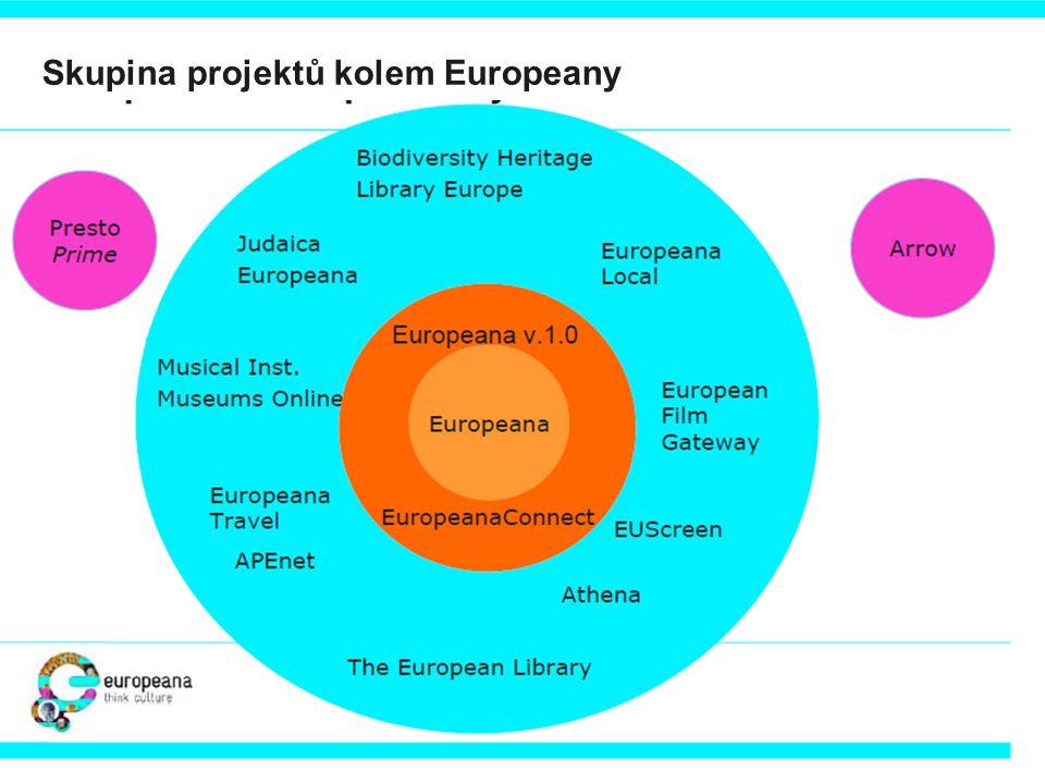 Skupina projektů kolem Europeany