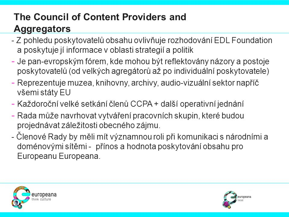 The Council of Content Providers and Aggregators
