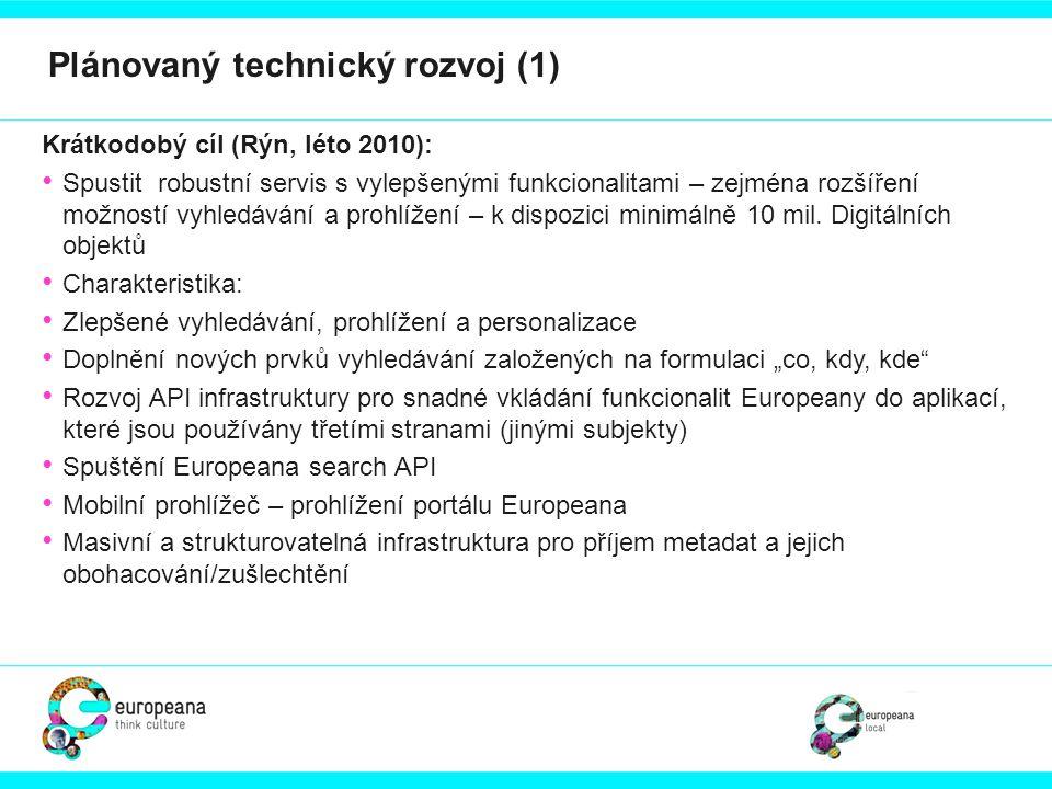 Plánovaný technický rozvoj (1)