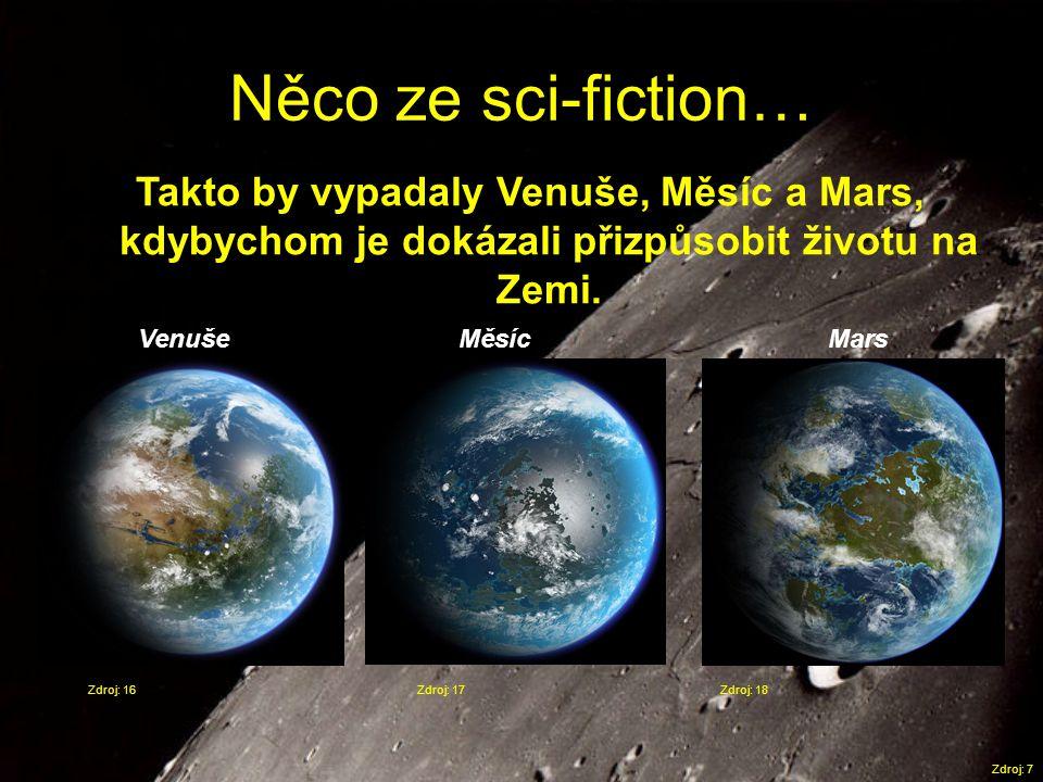 Něco ze sci-fiction… Takto by vypadaly Venuše, Měsíc a Mars, kdybychom je dokázali přizpůsobit životu na Zemi.
