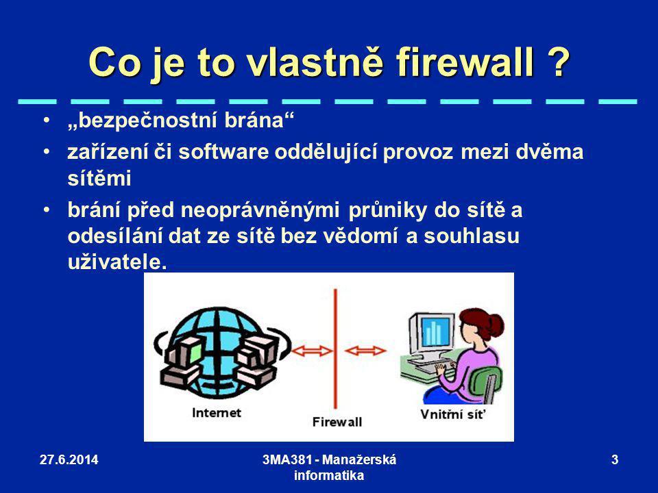 Co je to vlastně firewall