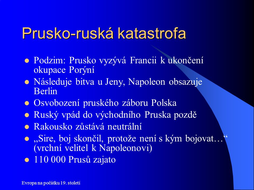 Prusko-ruská katastrofa