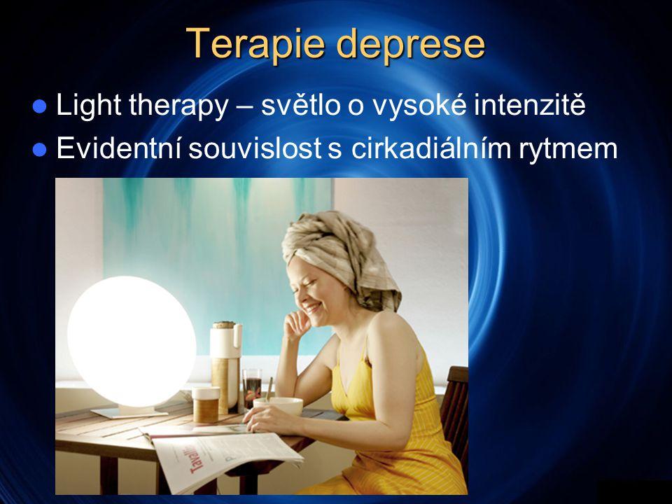 Terapie deprese Light therapy – světlo o vysoké intenzitě