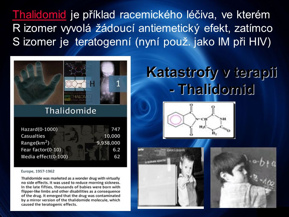 Katastrofy v terapii - Thalidomid