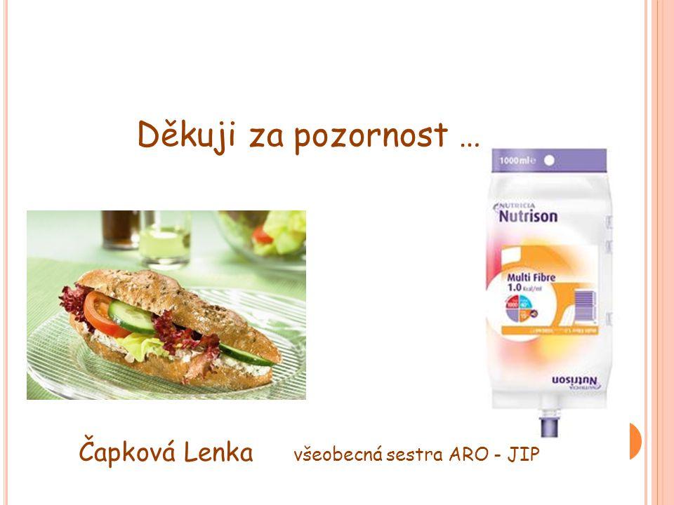 Čapková Lenka všeobecná sestra ARO - JIP