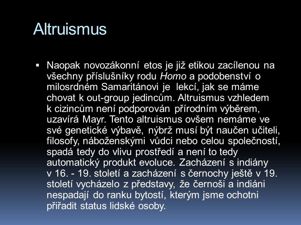 Altruismus