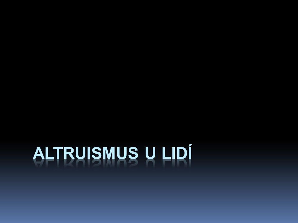 altruismus u lidí