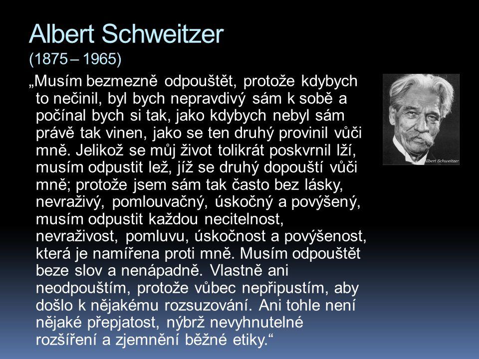 Albert Schweitzer (1875 – 1965)