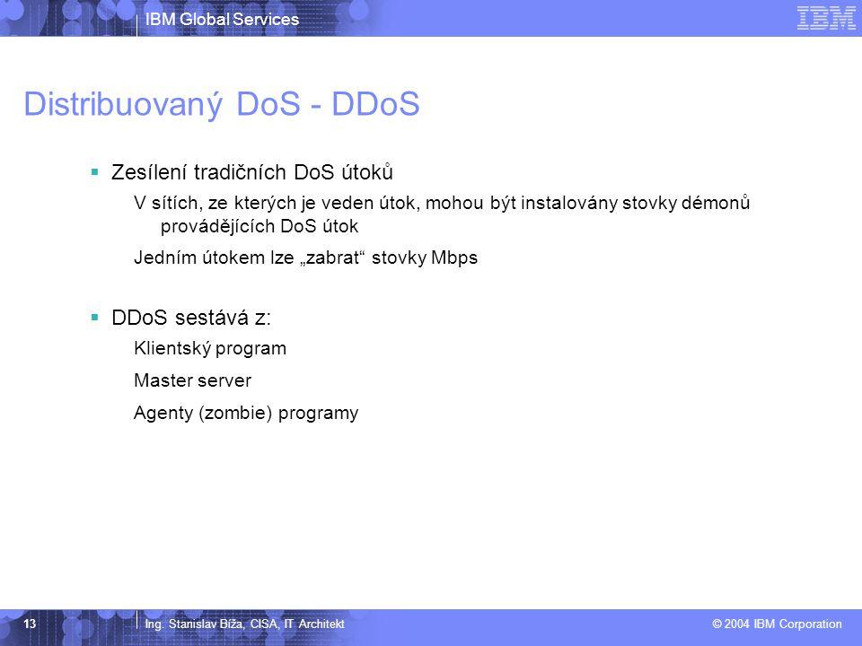 Distribuovaný DoS - DDoS