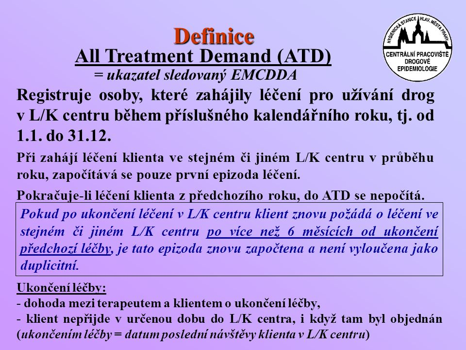 Definice All Treatment Demand (ATD)