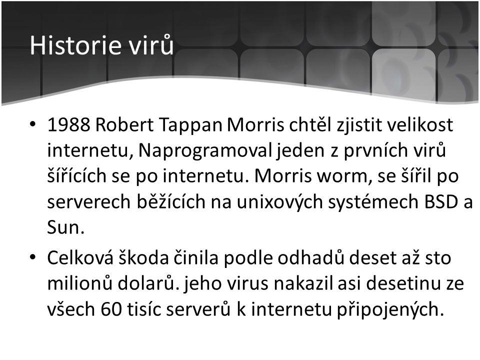 Historie virů