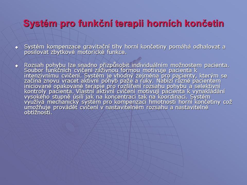 Systém pro funkční terapii horních končetin