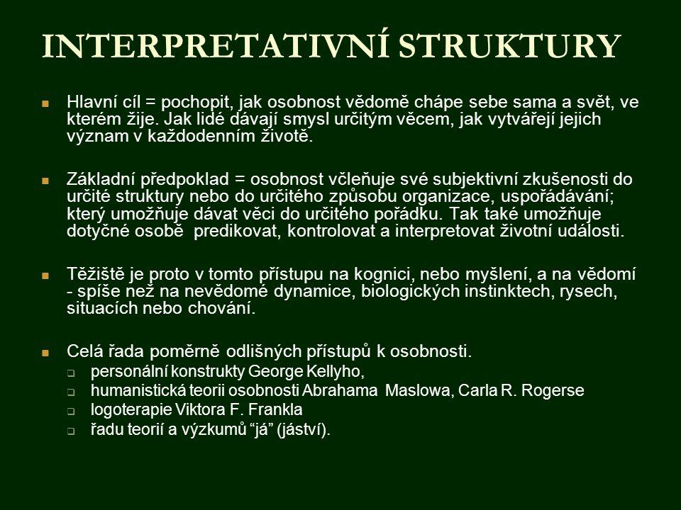 INTERPRETATIVNÍ STRUKTURY