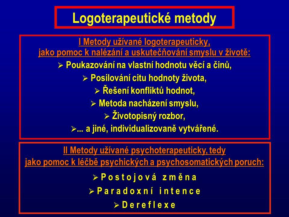Logoterapeutické metody