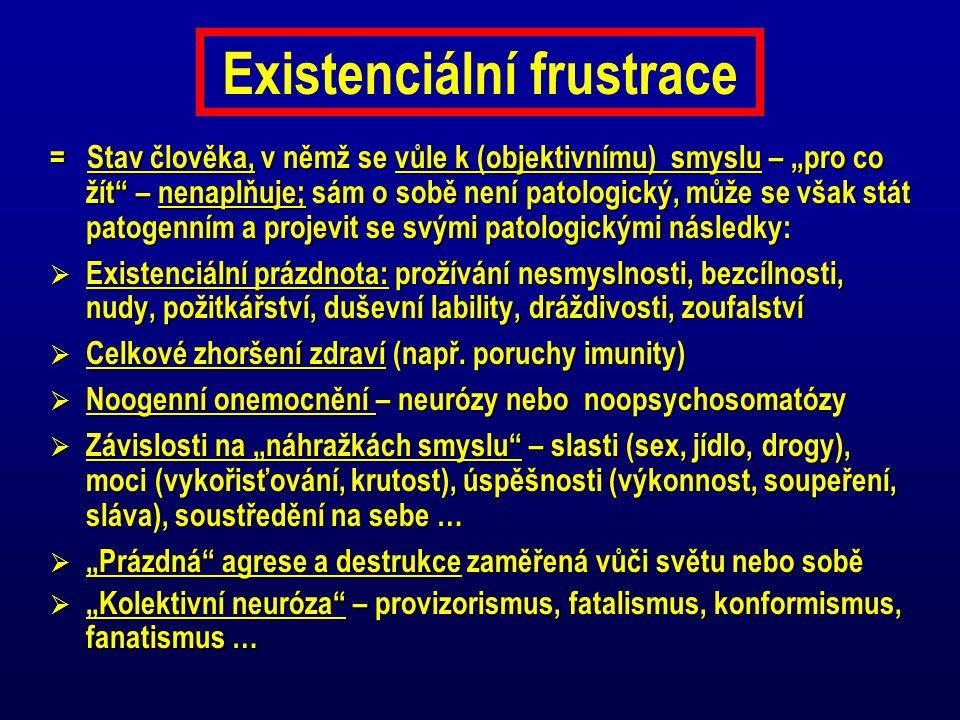 Existenciální frustrace