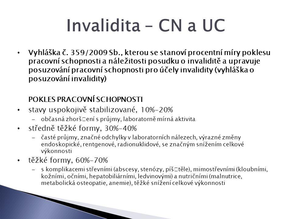 Invalidita – CN a UC