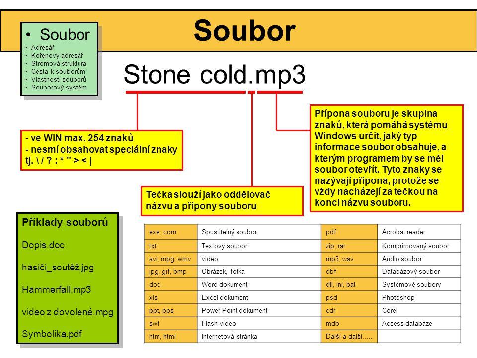 Stone cold.mp3 Soubor Soubor Příklady souborů