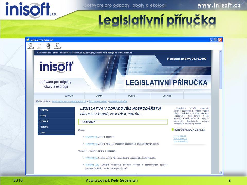 Legislativní příručka