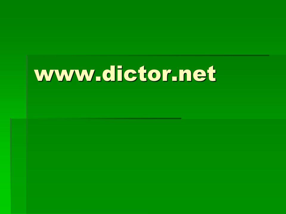 www.dictor.net