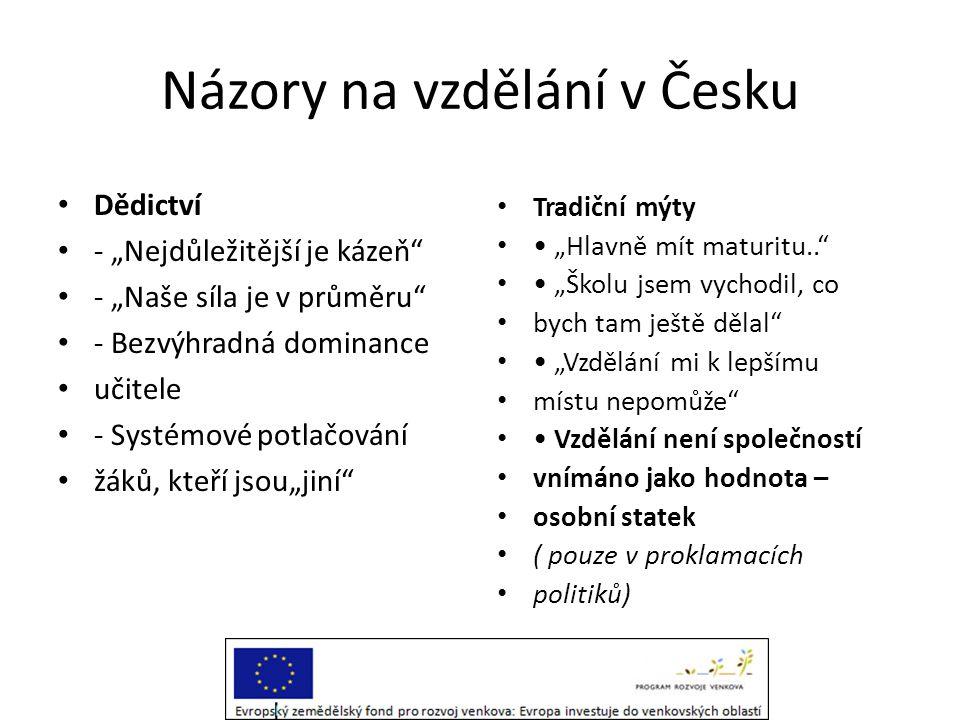 Názory na vzdělání v Česku