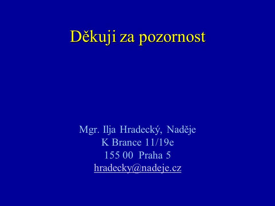 Mgr. Ilja Hradecký, Naděje