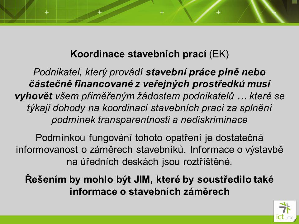 Koordinace stavebních prací (EK)