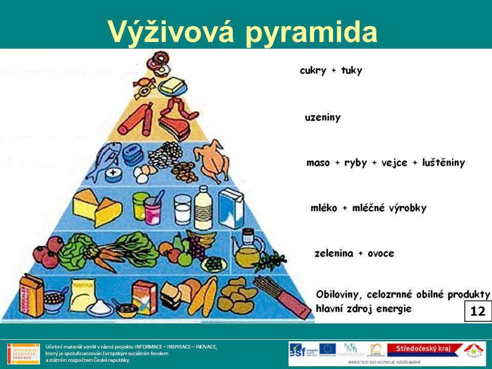 Výživová pyramida 12.