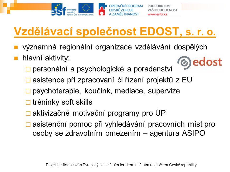 Vzdělávací společnost EDOST, s. r. o.