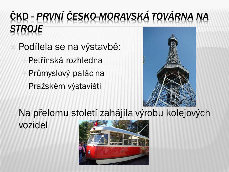 Čkd - První česko-moravská továrna na stroje