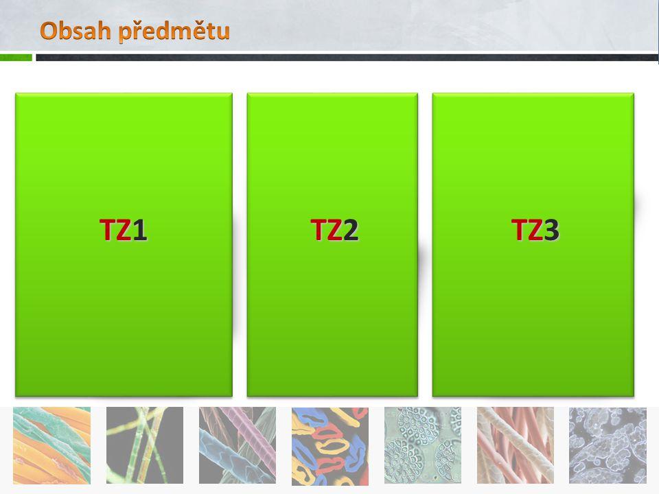Obsah předmětu TZ1 TZ2 TZ3