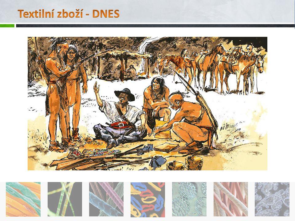 Textilní zboží - DNES