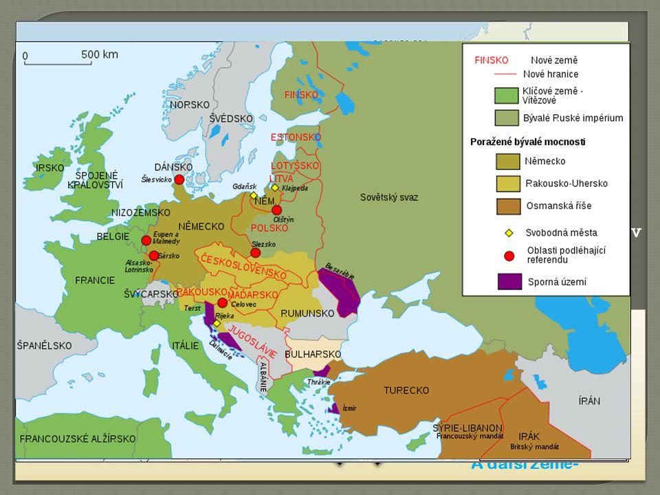 Vypuknutí 1. světové války