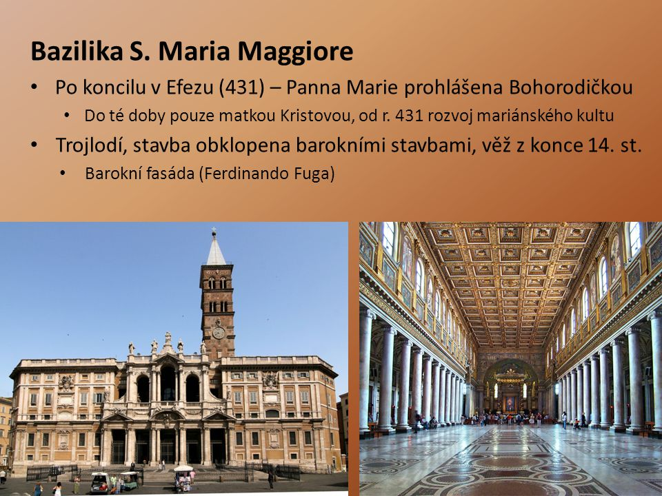 Bazilika S. Maria Maggiore