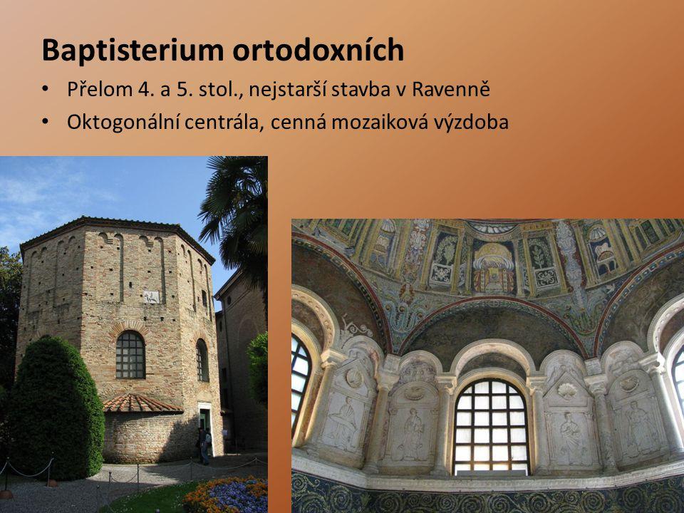 Baptisterium ortodoxních