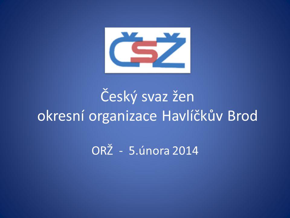 Český svaz žen okresní organizace Havlíčkův Brod