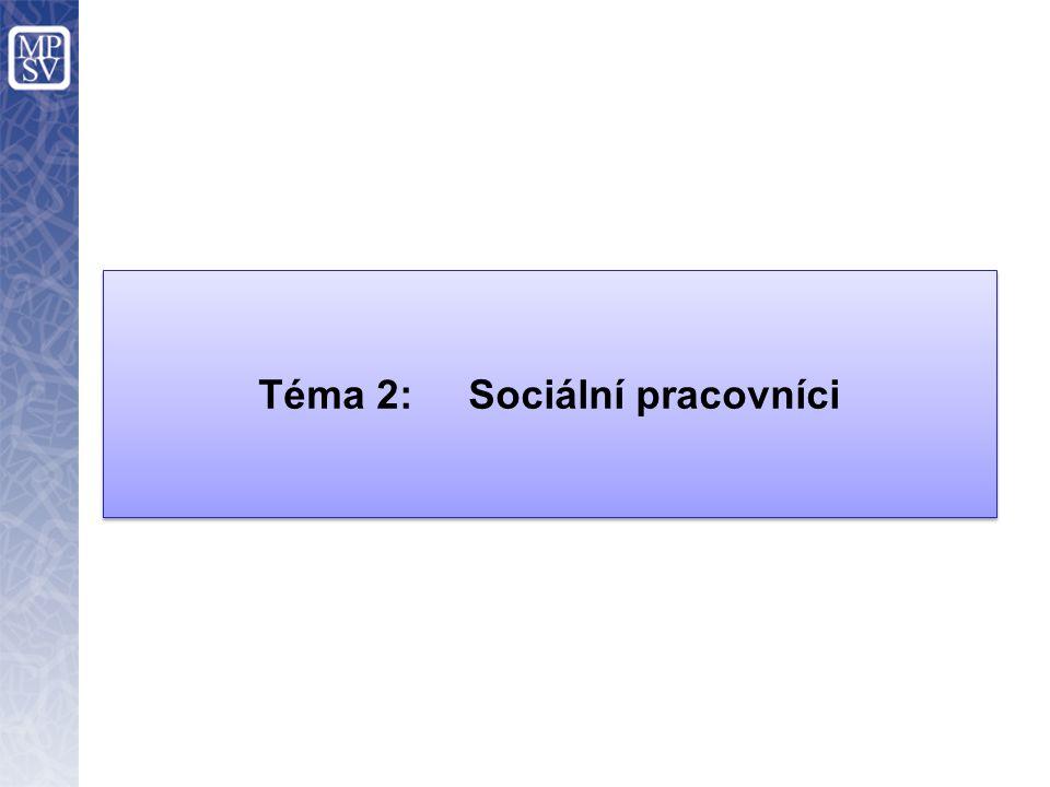 Téma 2: Sociální pracovníci