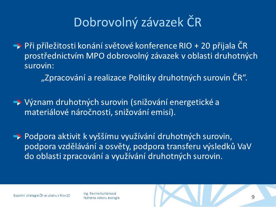 Dobrovolný závazek ČR
