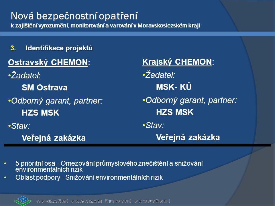 Nová bezpečnostní opatření k zajištění vyrozumění, monitorování a varování v Moravskoslezském kraji